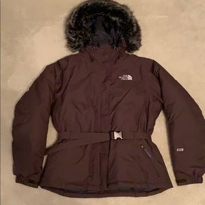 The North Face down coat